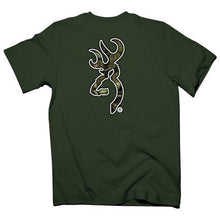Browning Men's Buckmark Mossy Oak Country Camo T-shirt Olive - Back40Trading2  - 1