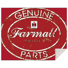 Farmall Harvester Genuine Parts Sherpa Blanket - Back40Trading2