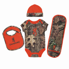 Browning Baby Camo 4 Piece Blaze Orange - Back40Trading2