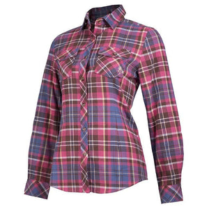 Browning Women's Laurel Flannel Plaid Button Down Shirt - Back40Trading2