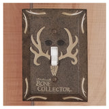 Bone Collector Bath Switchplate Single - Back40Trading2