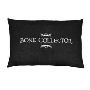 Bone Collector Black Oblong Pillow - Back40Trading2