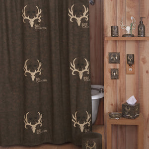 Bone Collector Shower Curtain - Back40Trading2