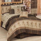 Browning Buckmark Comforter Set  Twin - Back40Trading2
