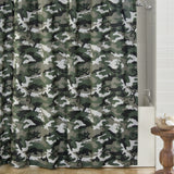 Buckmark Camo Green Shower Curtain - Back40Trading2