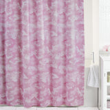 Buckmark Camo Pink Shower Curtain - Back40Trading2