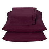 Burgundy Waterbed Sheets Queen - Back40Trading2