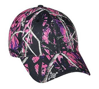 Muddy Girl Low Profile Pink Hat - Back40Trading2