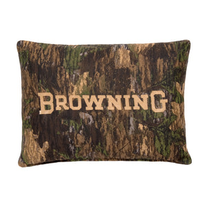Camo Deer Oblong Pillow Black - Back40Trading2