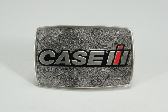Case IH Western Enamel Belt Buckle - Back40Trading2