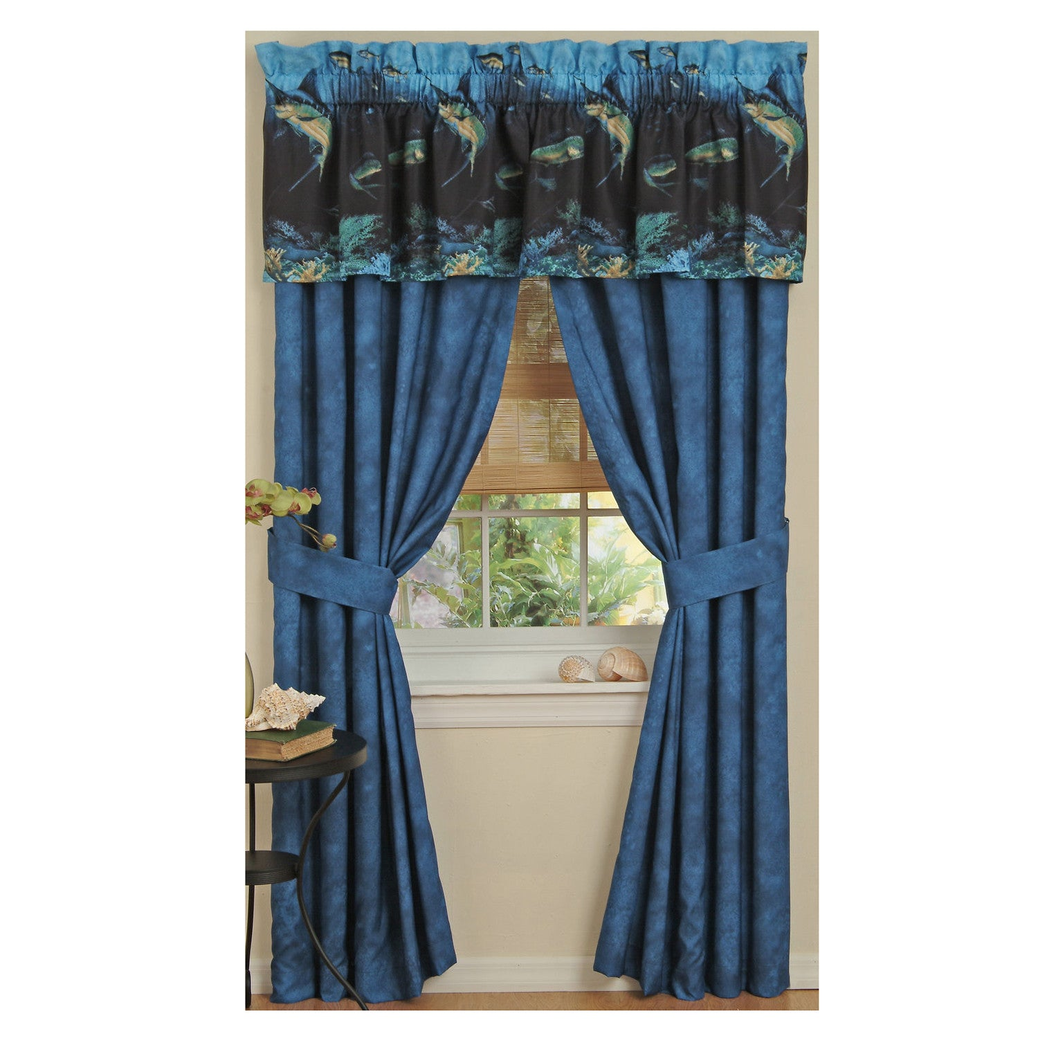 Coral Reef Valance - Back40Trading2