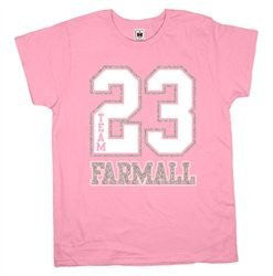 Farmall Team Farmall Ladies T-Shirt Pink - Back40Trading2