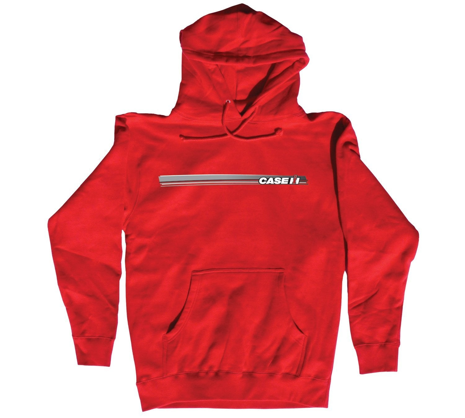 Case IH Farm SWOOSH Hooded Pullover Sweatshirt - Back40Trading2