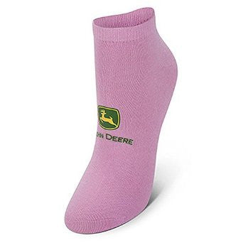 Deere All Pink Womens Ankle Sock - Back40Trading2