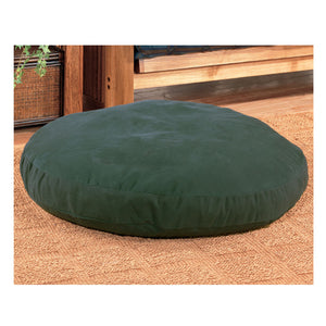 Dog Bed - Round Canvas Green 40 inch - Back40Trading2