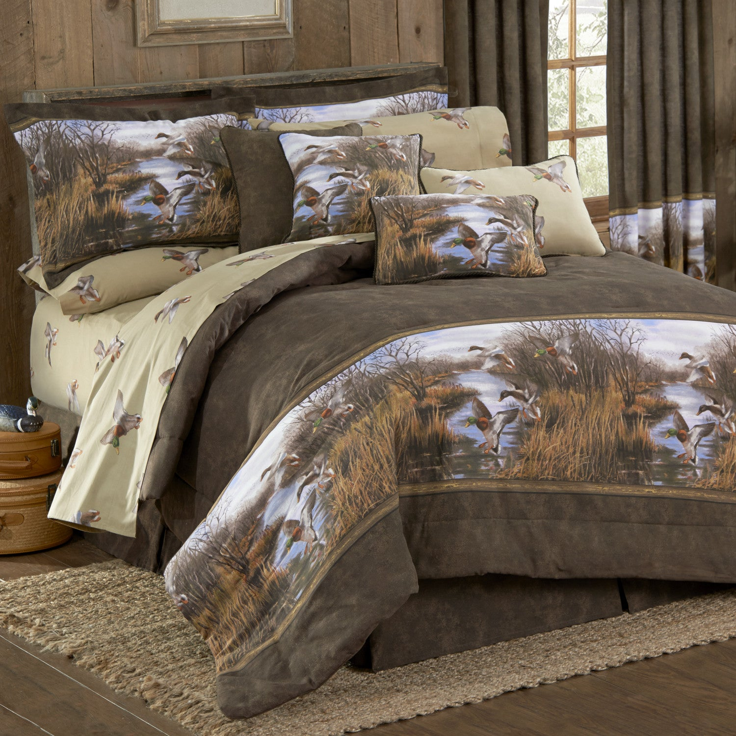 Duck Approach Comforter Set King - Back40Trading2