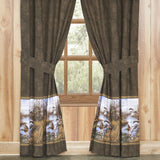Duck Approach Rod Pocket Curtains - Back40Trading2