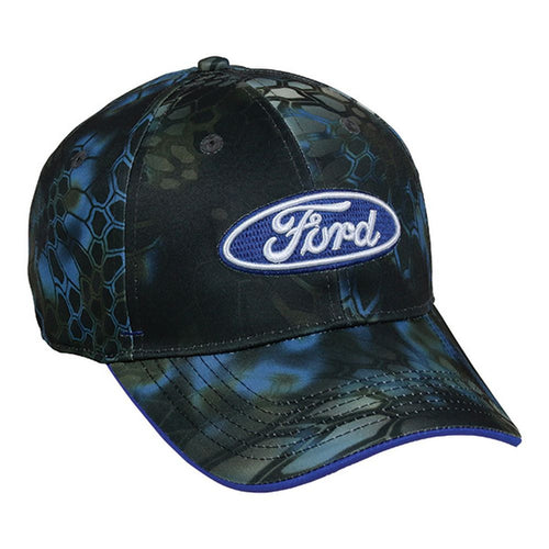 Ford® Kryptek Neptune Camo Moisture Wicking Hat - Back40Trading2