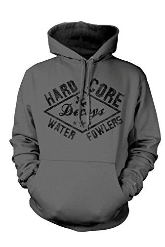 Hard Core Brands Men's Waterfowlers Hoodie Heather Charcoal - Back40Trading2