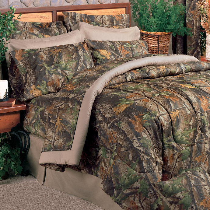 Realtree Hardwoods Comforter Set, King - Back40Trading2