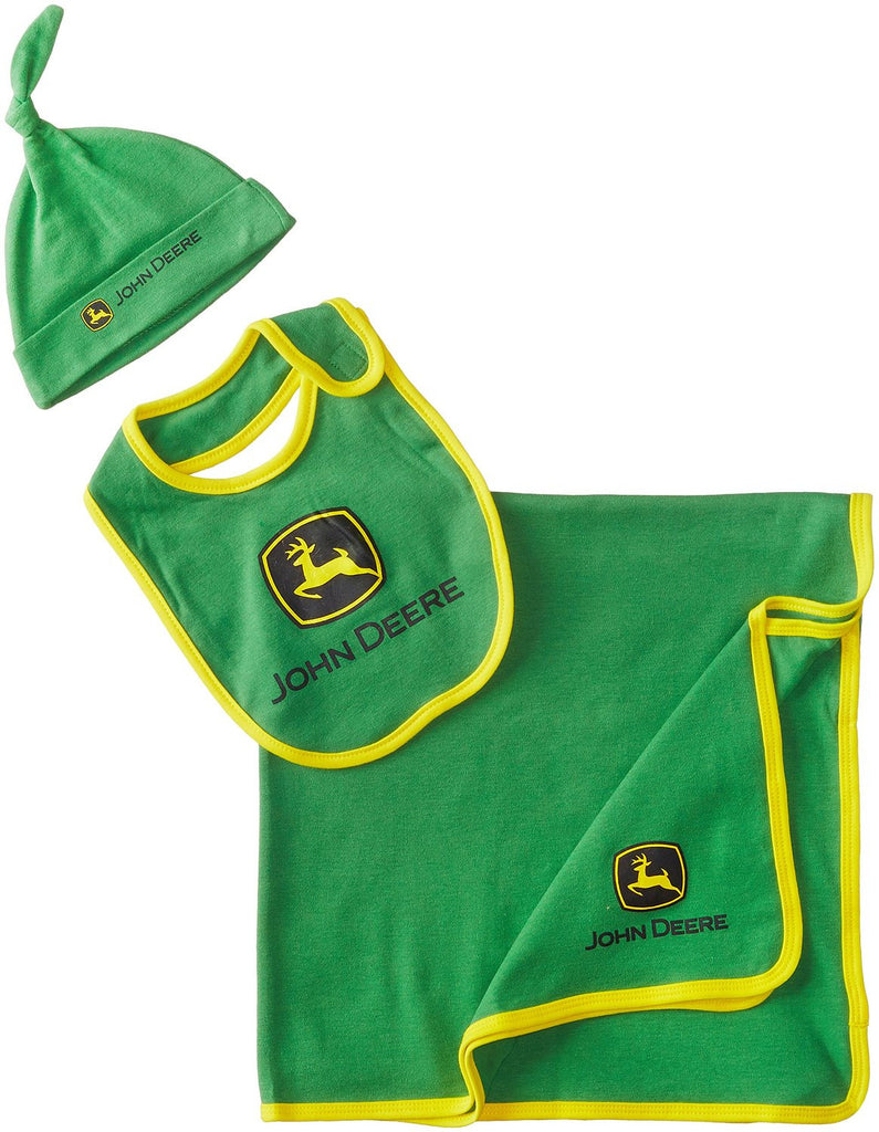 John Deere Baby-Boys Newborn Trademark Layette Set Green