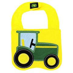 John Deere Baby Tractor Bib- One Size - Back40Trading2