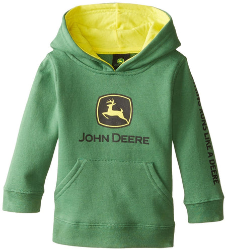 John Deere Baby Boys' Trademark Fleece Green - Back40Trading2