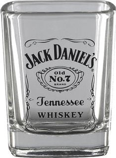 Jack Daniels Medium Barrel Shot Glass - Back40Trading2