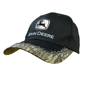 John Deere Men's Barbed Wire And Camo Cap - Back40Trading2