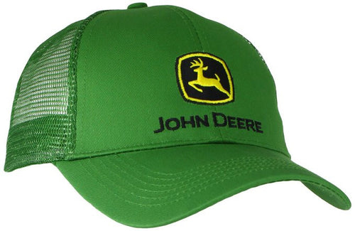 John Deere Men's Logo Mesh Back Core Baseball Cap - Back40Trading2