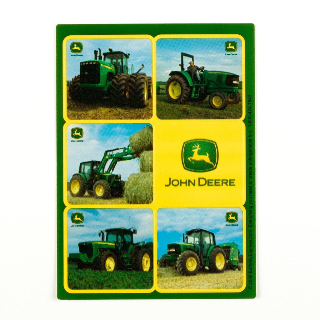 John Deere Sticker Sheets (4 count) Party Accessory