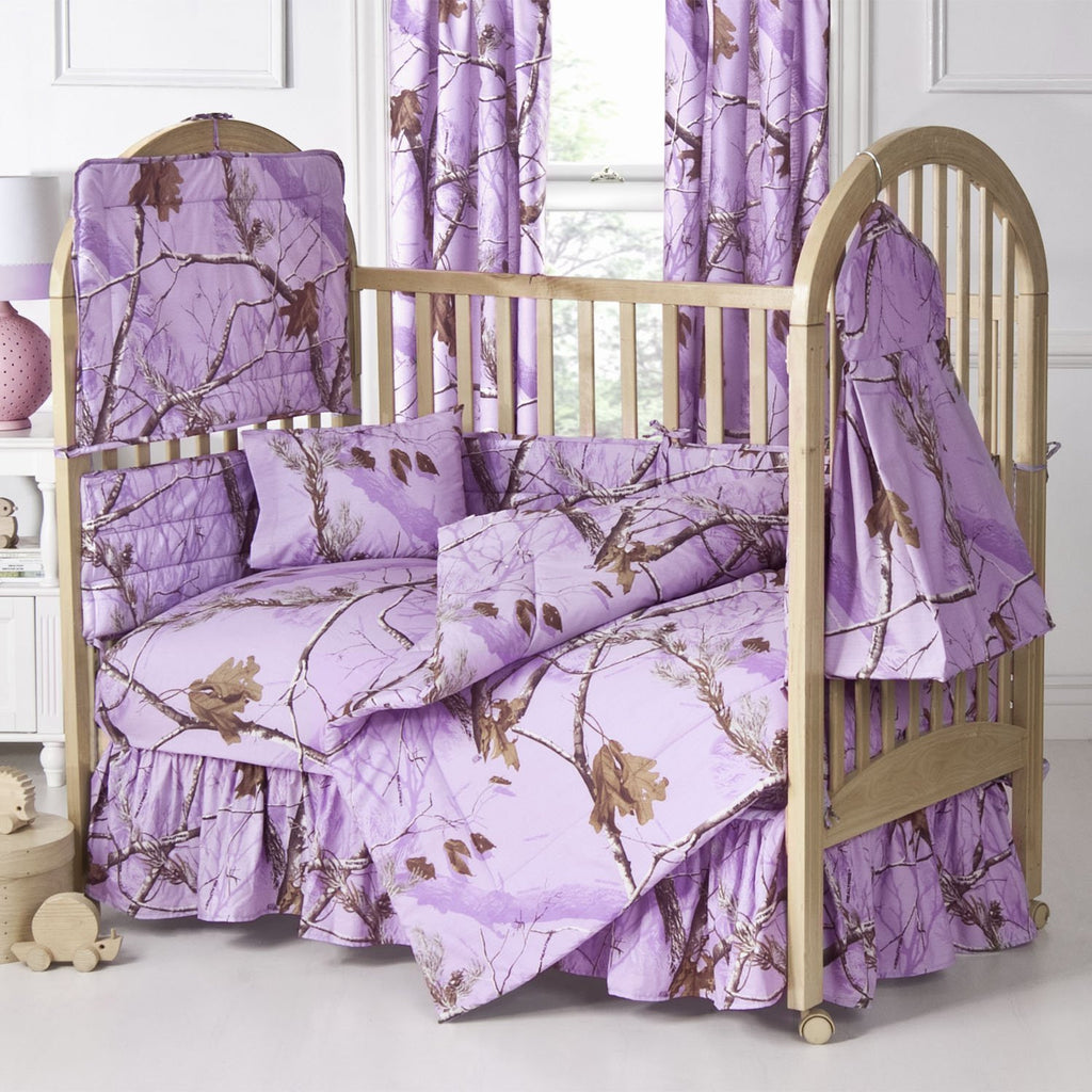 Kimlor Mills Realtree APC 2 Piece Housewares and Bedding, Lavender