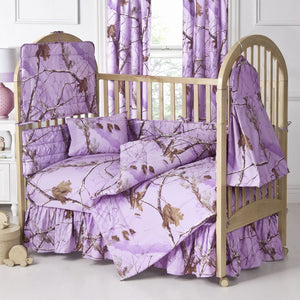 Kimlor Mills Realtree APC 2 Piece Housewares and Bedding, Lavender - Back40Trading2