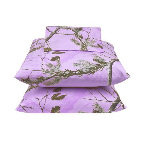 Kimlor Mills Realtree APC Housewares and Bedding, Twin, Lavender - Back40Trading2