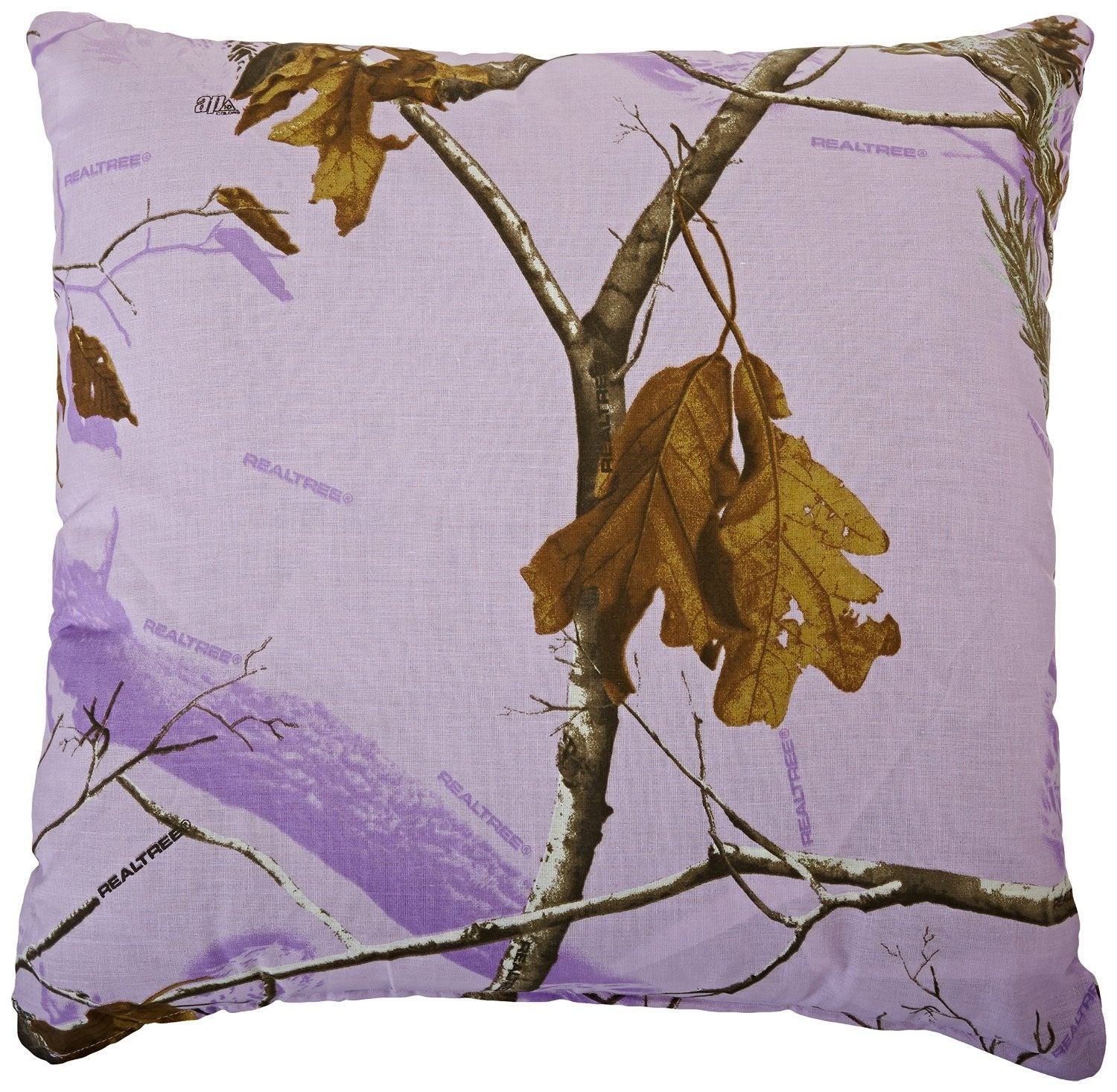 Kimlor Mills Realtree APC Square Pillow, Lavender - Back40Trading2