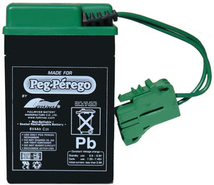 Peg Perego 6 Volt Replacement Battery for Peg Perego Vehicles - Back40Trading2