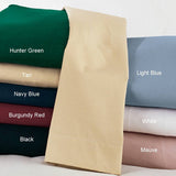 Navy Waterbed Sheets Super Twin - Back40Trading2