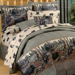 The Bears Comforter Set  Queen - Back40Trading2