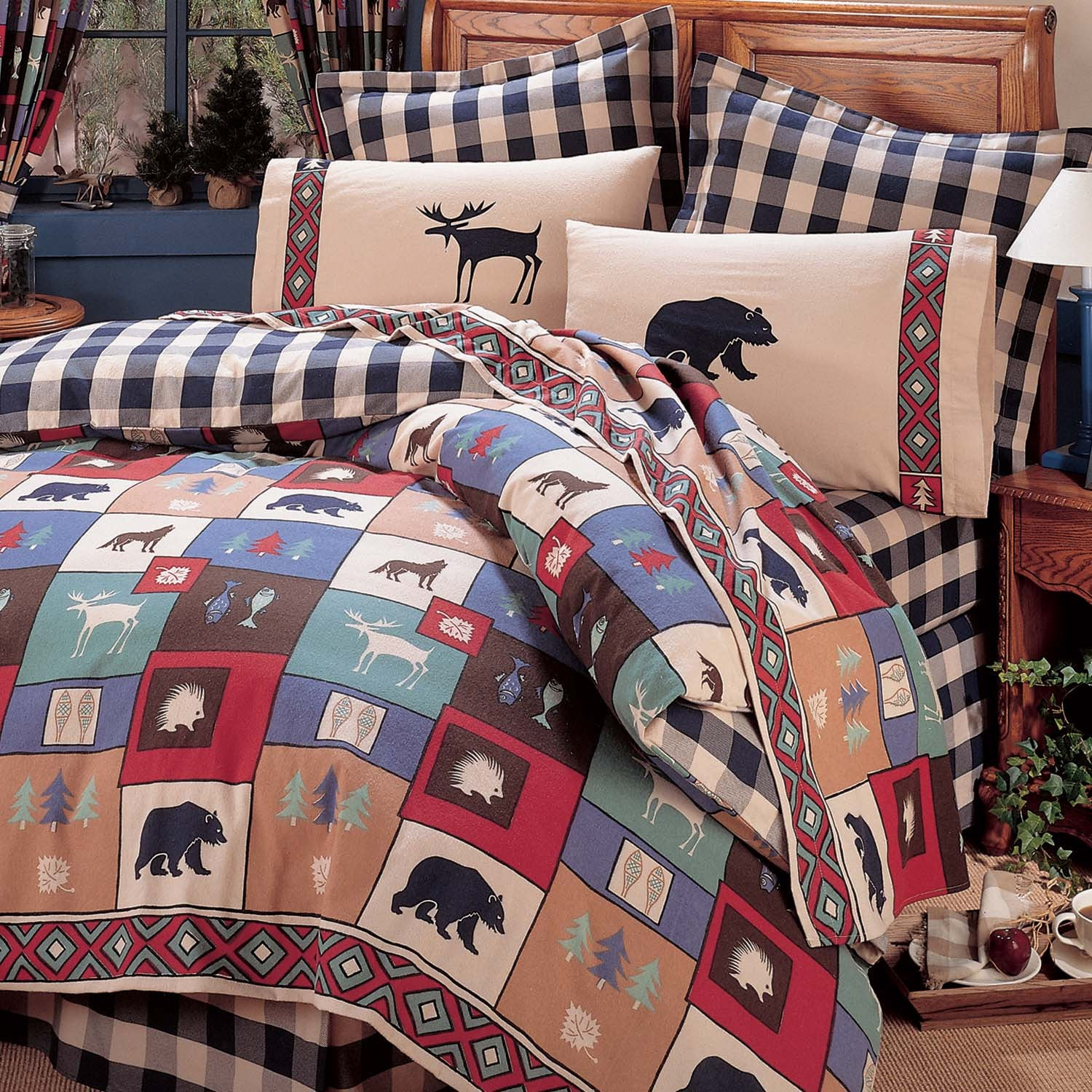 The Woods Comforter Set  Full - Back40Trading2