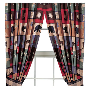 The Woods Rod Pocket Curtains - Back40Trading2