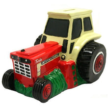 "Case International ""IH"" Tractor Piggy Bank - Back40Trading2  - 1"