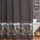 Whitetail Dreams Shower Curtain - Back40Trading2