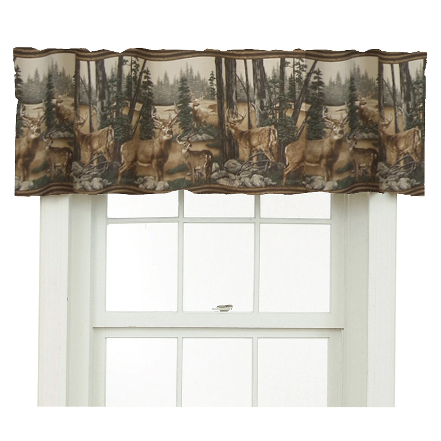 Whitetail Dreams Valance - Back40Trading2