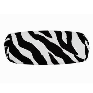 Zebra Black Neckroll Pillow - Back40Trading2