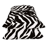 Zebra Black Waterbed Sheets  Super Twin - Back40Trading2