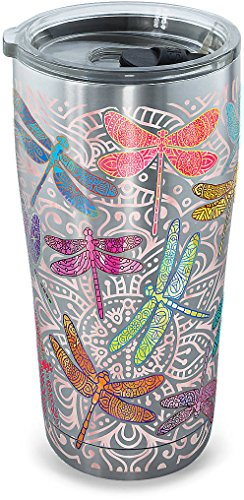 Tervis Stainless Steel Dragonfly Mandalas 20 oz. Tumbler with Lid