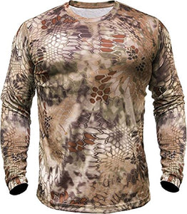 Kryptek Men's Hyperion T-Shirt Long Sleeve Polyester- Back40Trading2 - 3