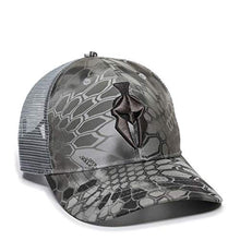 Kryptek Helmet Patch Mesh Back Hat