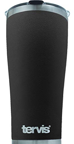 Tervis 30 Ounce Powder Coated Stainless Steel Collection Black Tumbler