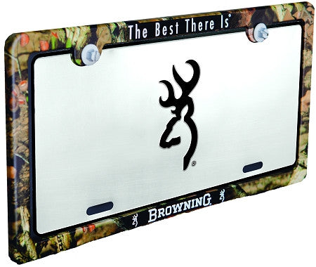 Browning Universal Camo License Plate Frame - Back40Trading2